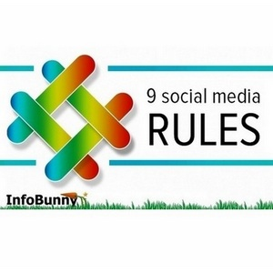 9 social media rules home based social media rules - Social Media Marketing Etiquette