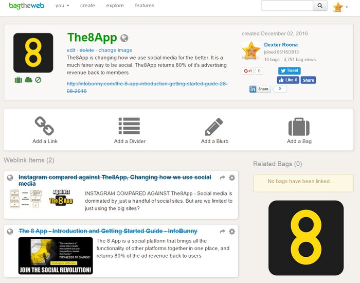 bag-the-web-the8app-content-curation-page