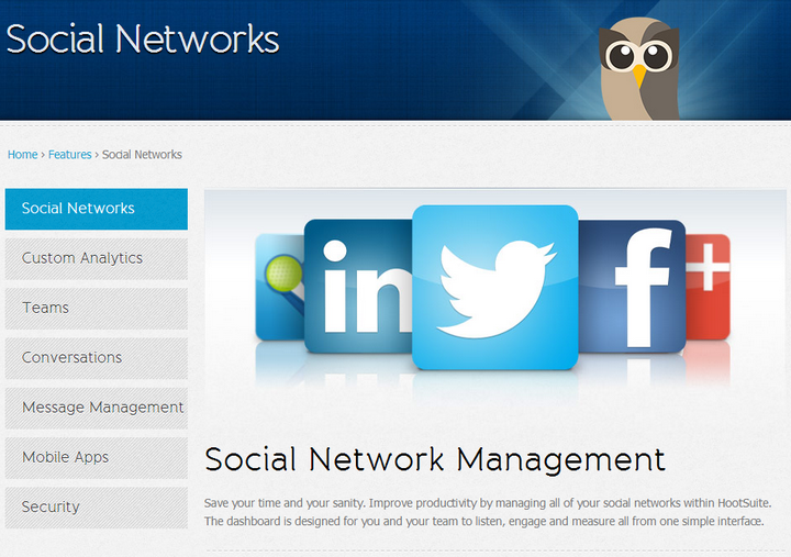 HootSuite Social Media Management Platform