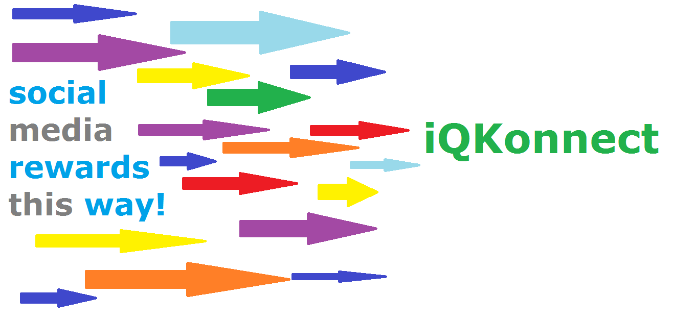 social media rewards with iqkonnect signup today