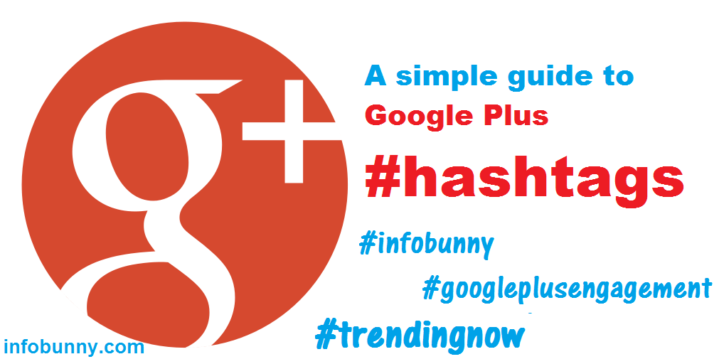 Google Plus  - A Guide To Google Plus Hashtags