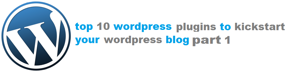 TOP TO WORDPRESS PLUGINS - CLICK FOR PART 1