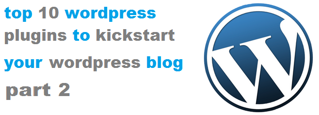 Top 10 WordPress Plugins Part 2