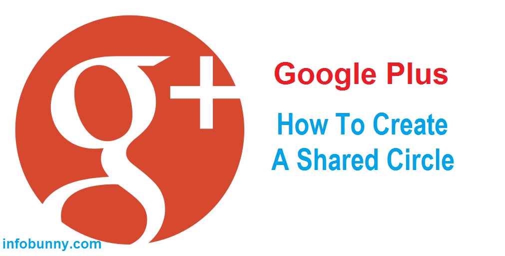 Google Plus How To Create A Shared Circle