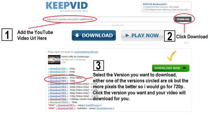 KeepVid - YouTube Video Download - YouTube Video Strategy
