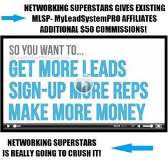 MLSP MyLeadSystemPro Sign Up - Networking Superstars