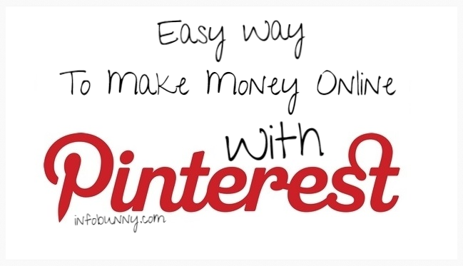 Easy Way To Make Money Online With Pinterest Top Image