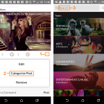 How to re-categorise your Tsu Posts with the Android App