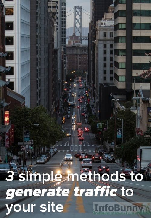 3 simple methods to generate traffic without SEO