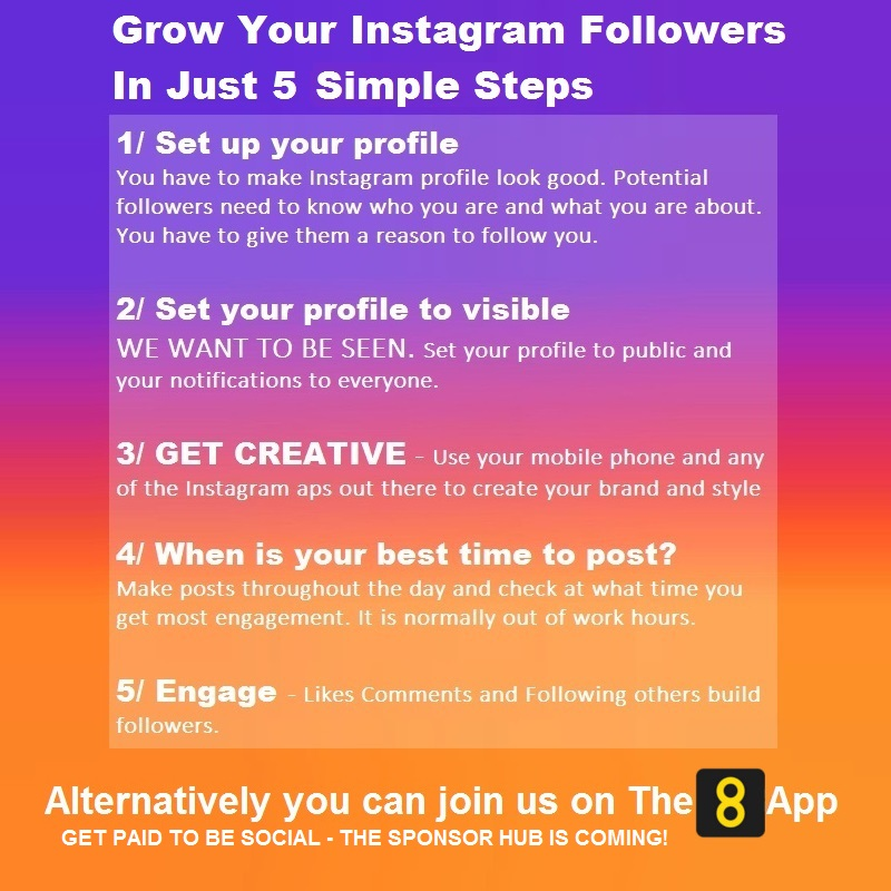 How to grow your Instagram followers