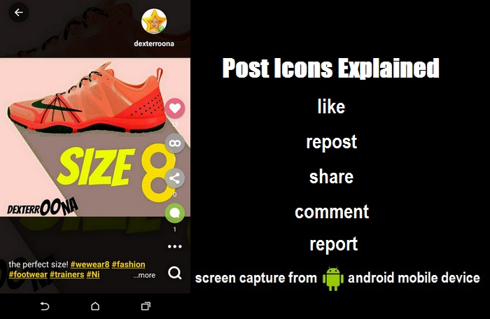 The 8 App Post View