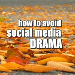 How to avoid social media drama