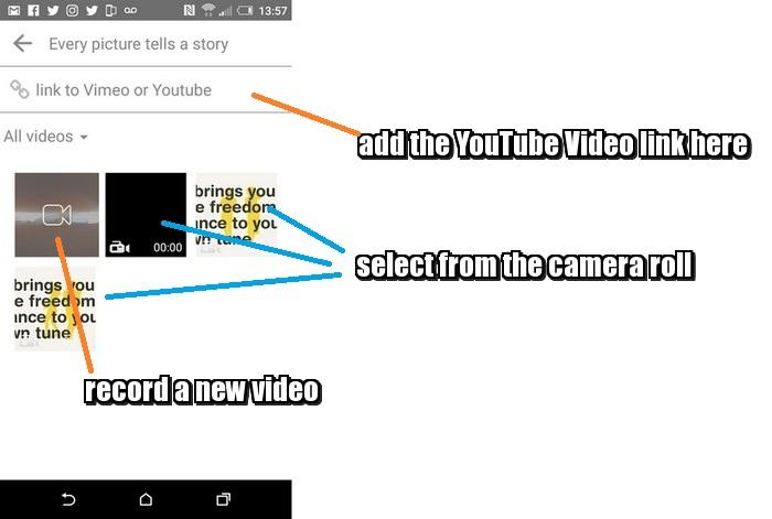 how-to-share-videos-via-the8app - Instagram compared to The8App - YouTube - Infobunny.com