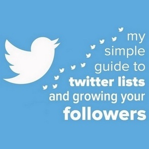 My simple guide to creating and using Twitter Lists and growing your followers
