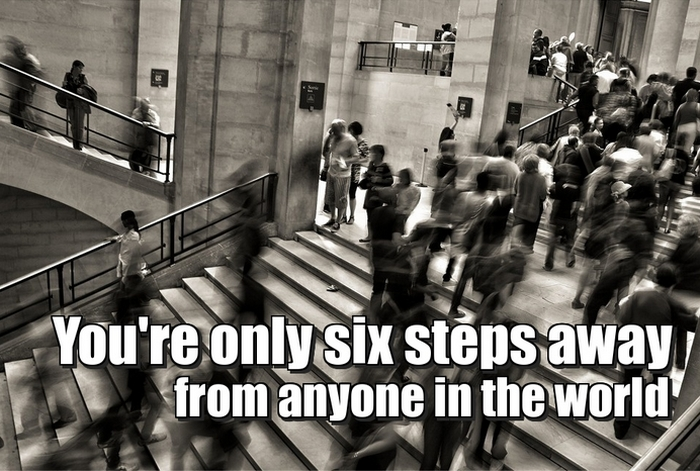 you are only 6 steps away from anyone in the world - How to grow your network successfully?