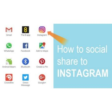 How to social share to Instagram from any site