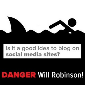Social Blogging - Is it a good idea to blog on Social Media Platforms?