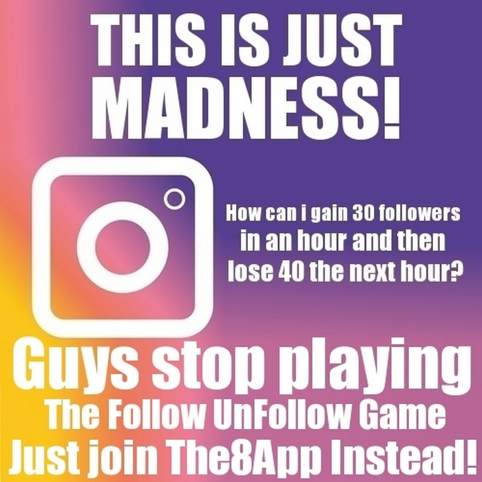 The Instagram Following Game #INSTAGRAM #SOCIALMEDIA #SOCIAL
