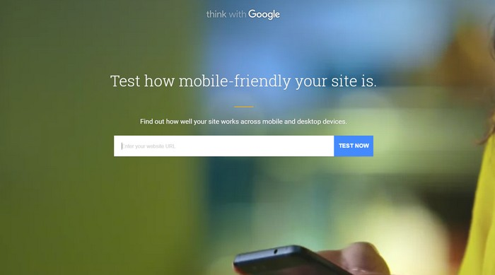 How fast is your mobile site - Test My Site