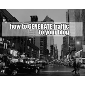 Here are 5 really easy tips to generate traffic to your blog for FREE