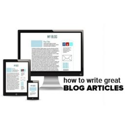 How to structure great blog articles