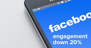 Facebook Engagement Falling For Big Brands and Publishers
