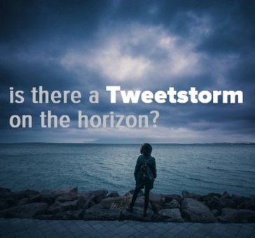 Does Twitter have a new Tweetstorm feature? Twitter Stories?