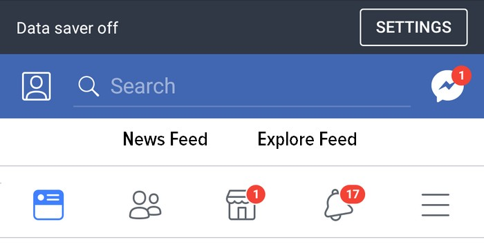 Facebook's Alternative News Feed