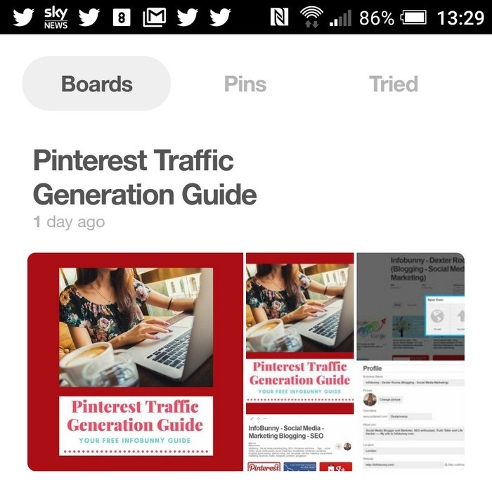 Pinterest Mobile App Guide And Review
