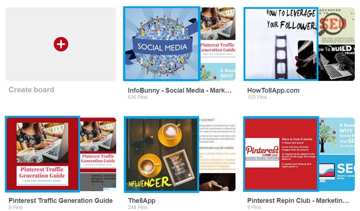 Pinterest Board Cover Images