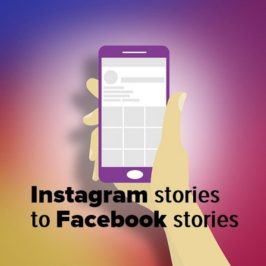 Instagram Stories can now be shared to Facebook Stories
