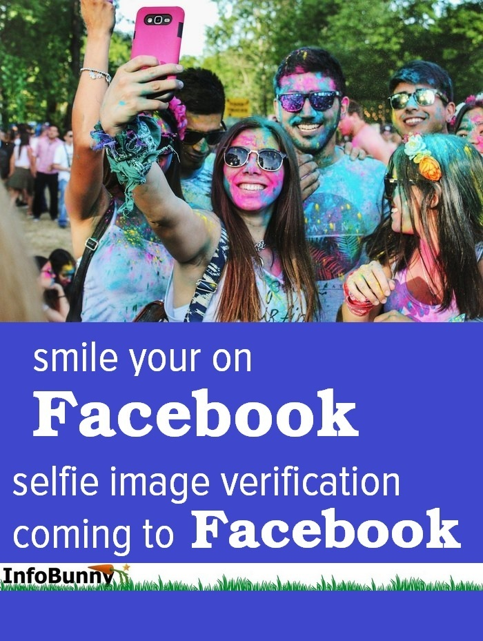 Facebook selfie image verification