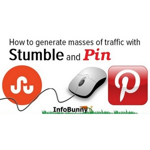 Generate Traffic With Social Media - Using StumbleUpon And Pinterest