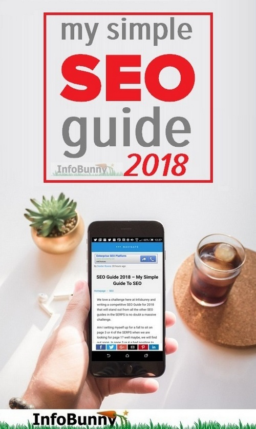 My simple SEO Guide 2018