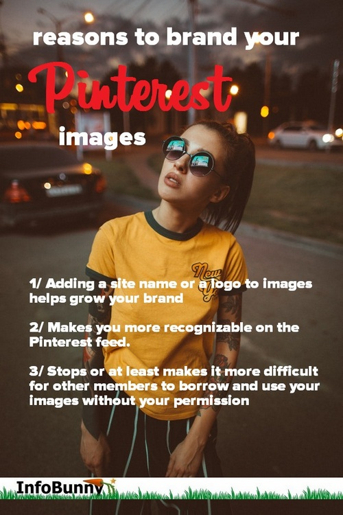 reasons to brand your Pinterest Images - Pinterest Mistakes Bloggers Make And How To Fix Them