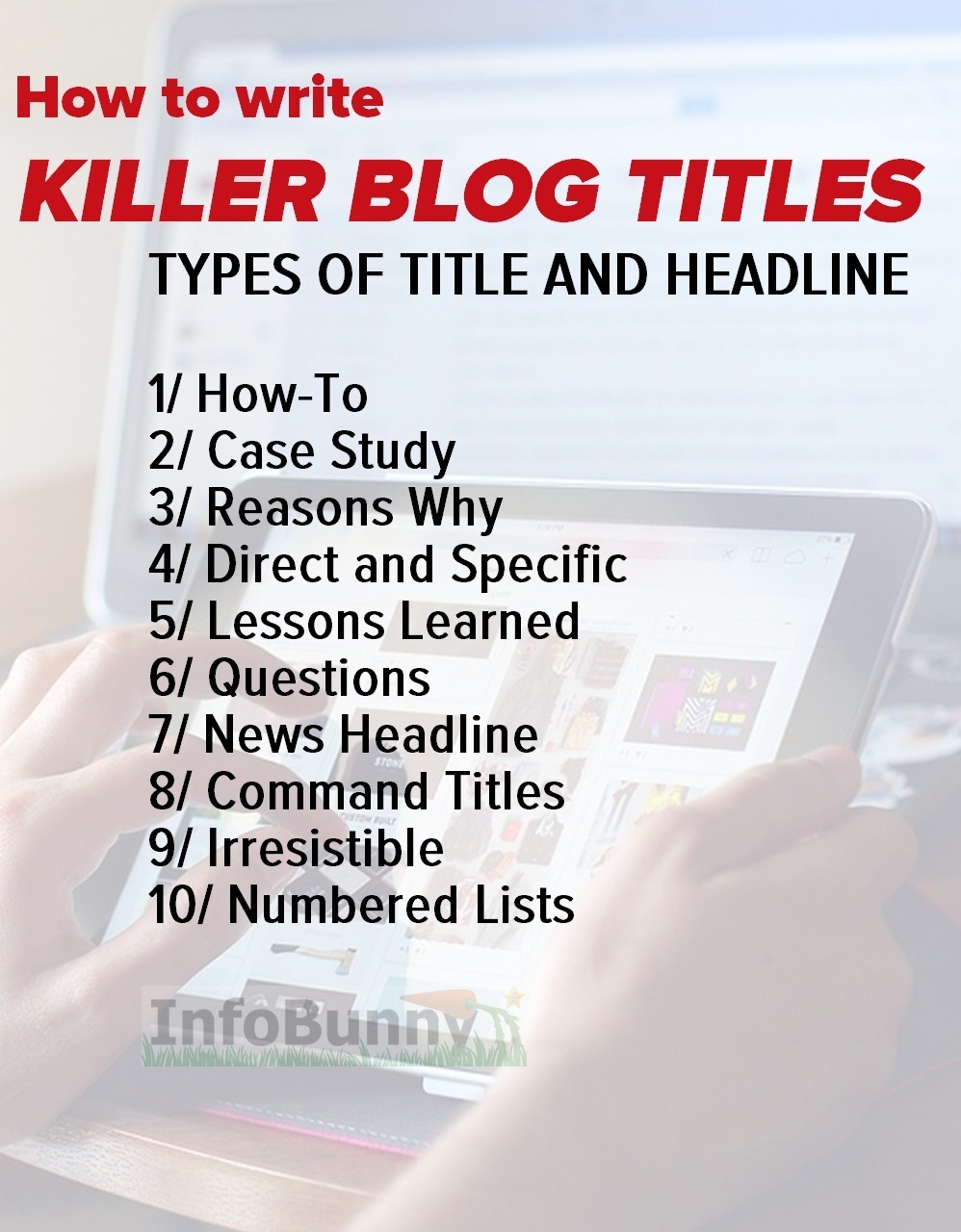 How to write Killer Blog articles