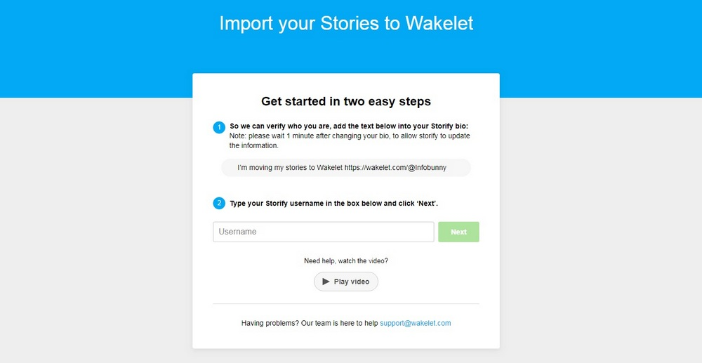 Wakelet Getting Started Guide -Profile Set Up