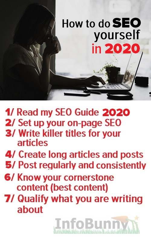 Image for Pinterest shares How to do SEO yourself in 2020