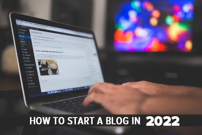 How to start a blog in 2021 - LAPTOP GRAPHIC