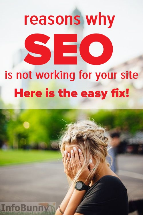 SEO not working on my site