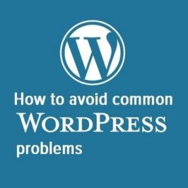 How to avoid WordPress problems