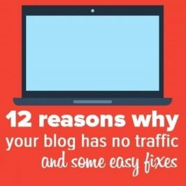 Blogging mistakes to avoid – 12 reasons why your blog has little or no traffic