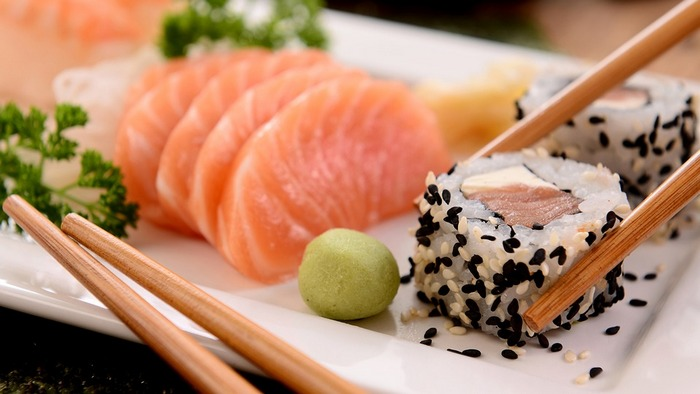 Healthy Living:  Sushi