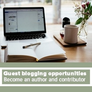 Guest blogging opportunities - Become an author and contributor