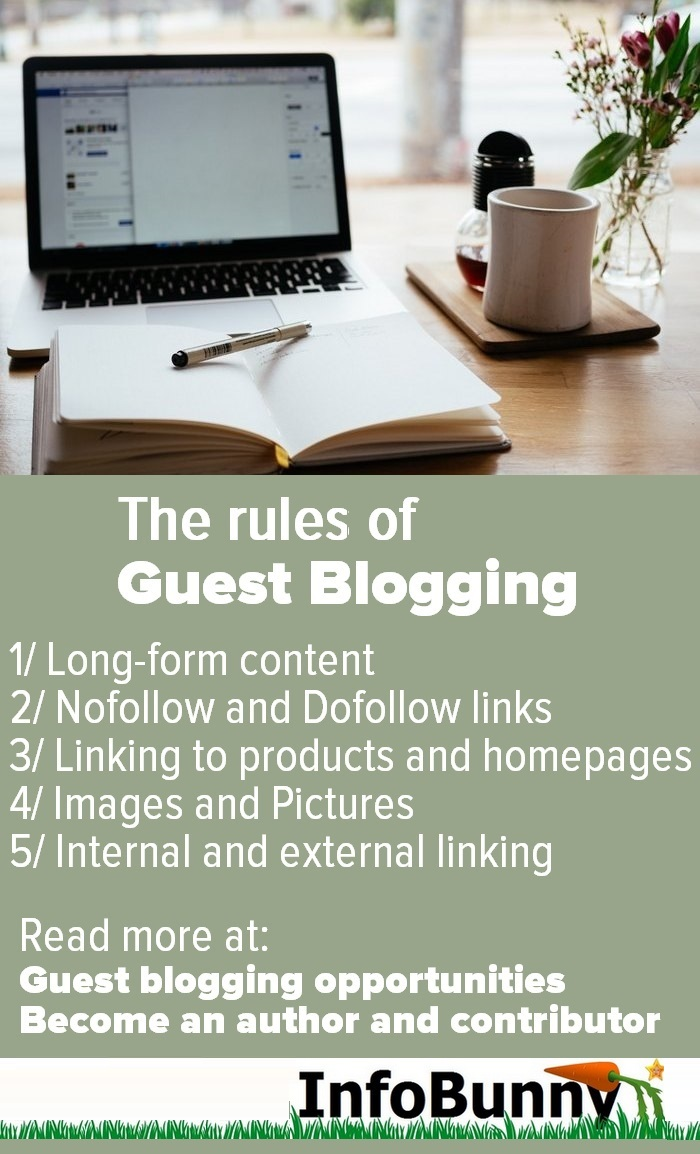 Guest blogging opportunities - The rules of guest blogging