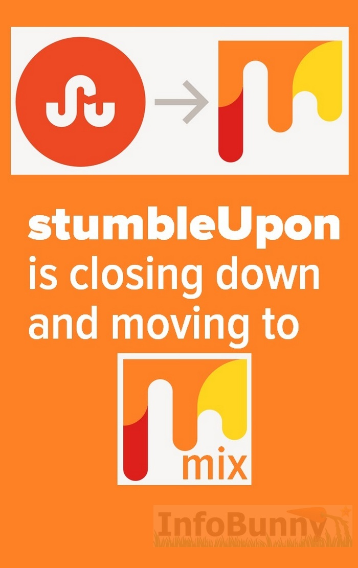 StumbleUpon is closing down and moving to mix