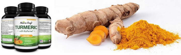Image showing what Tumeric root/powder looks like - Tumeric and weight-loss