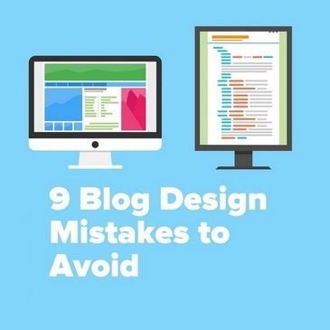 9 Blog Design Mistakes to Avoid featured