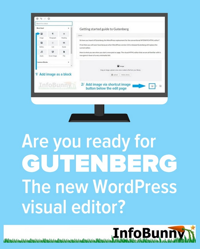Guide to Gutenberg - The new WordPess visual editor [WITH PICTURES]