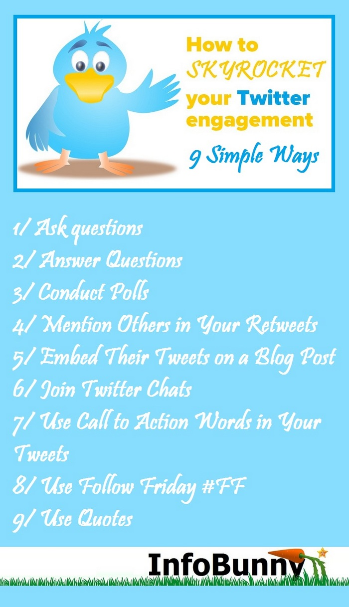 9 simple ways to make your Twitter Engagement SKYROCKET